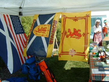 More of the tent interior